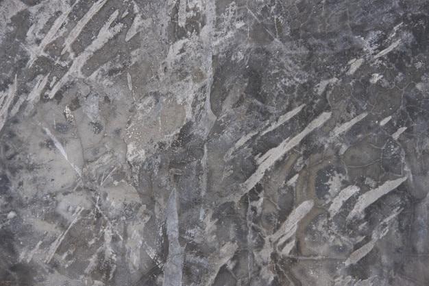 Mur de béton texturé gris. béton exposé