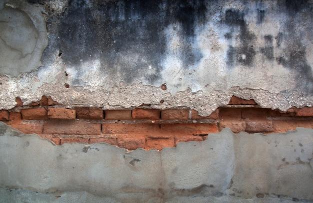 Mur de béton vintage fissuré