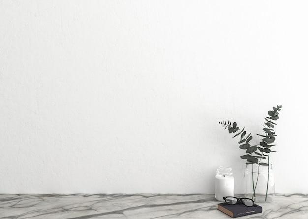 Mur blanc blanc