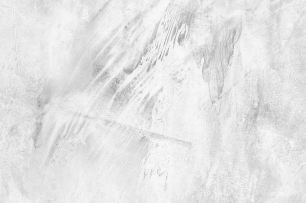 Mur blanc et ciment sale texture et fond avec espace de copie.