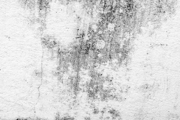 Mur blanc et texture sale et fond avec espace de copie.