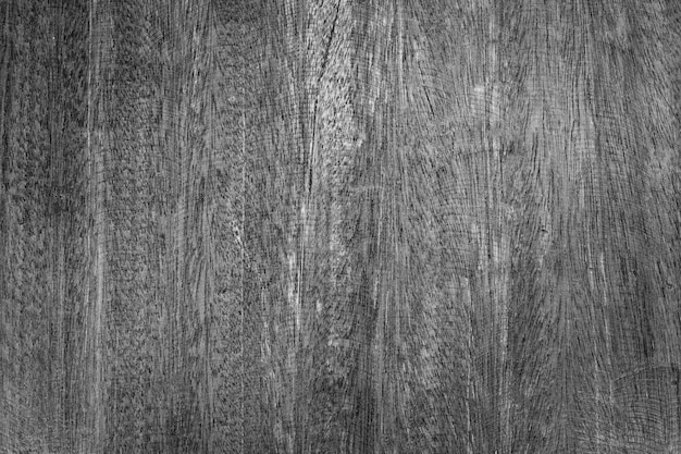 Mur en bois blanc avec un beau fond de texture en bois vintage noir et blanc
