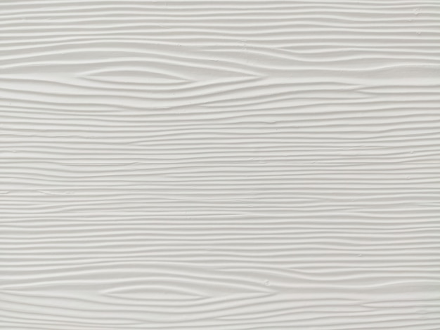 Mur en bois blanc avec motif abstrait
