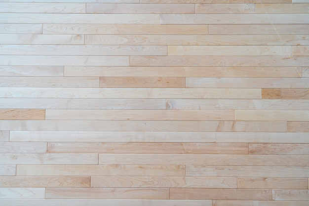 Mur en bois blanc