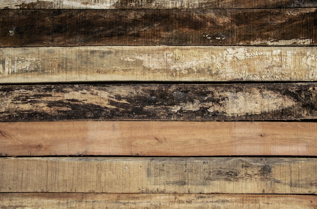 Mur en bois de chevauchement de fond