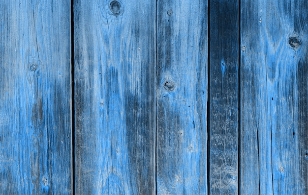 Mur de bois. fond bleu bois motif naturel.