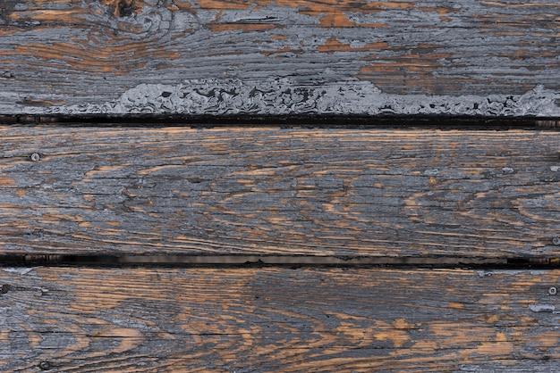 Mur de bois vieilli