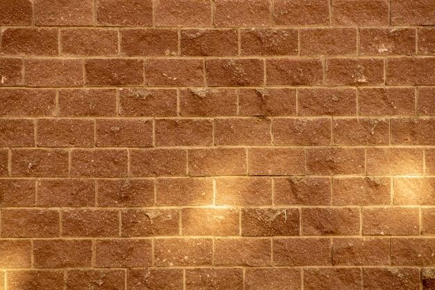 Mur de brique jaune
