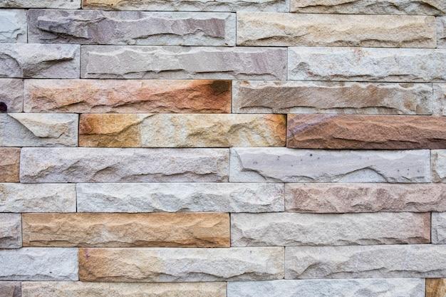 Mur de brique de mur moderne fond vintage