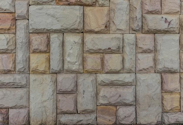 Mur de brique en pierre de fond