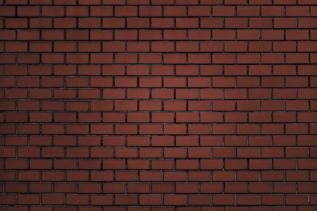 Mur de brique rouge brunâtre texturé