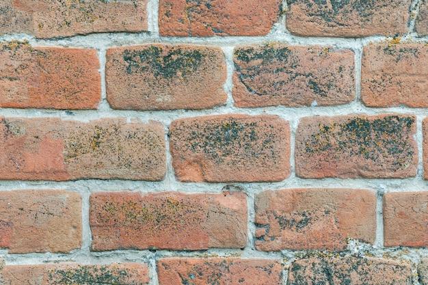 Mur de brique texture transparente de vieille brique rouge