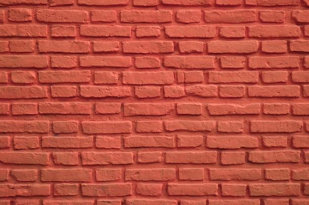 Mur de briques anciennes de couleur rouge persan pour le fond