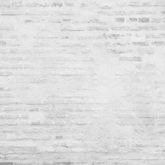 Mur De Briques Blanc Grunge Photo gratuit