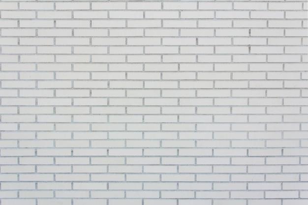 Mur de briques blanches doublées de taille moyenne. texture. fond.