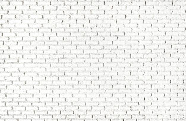 Mur de briques blanches papier peint texturé