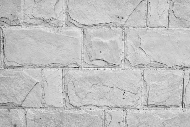 Mur de briques blanches, parfait comme arrière-plan