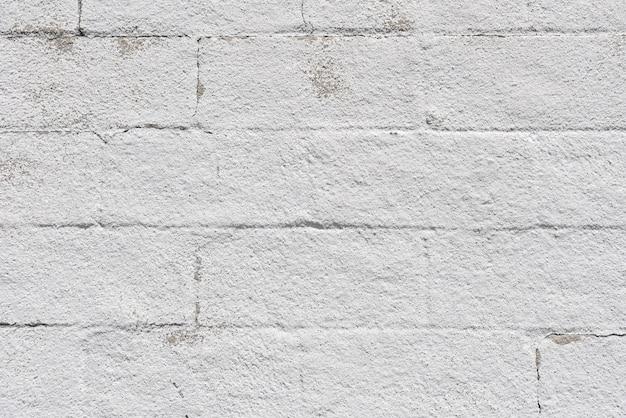 Mur de briques blanches simples