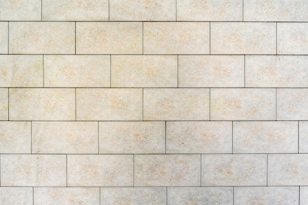Mur de briques blanches. texture de brique avec remplissage gris