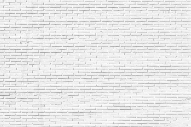 Mur de briques blanches texture design background