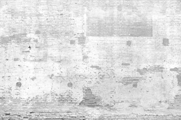 Mur de briques brisées à distnace