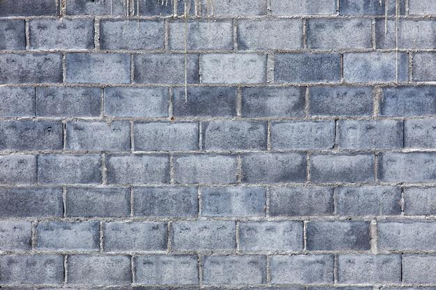 Mur de briques de ciment