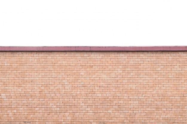 Mur de briques closeup fond texturé