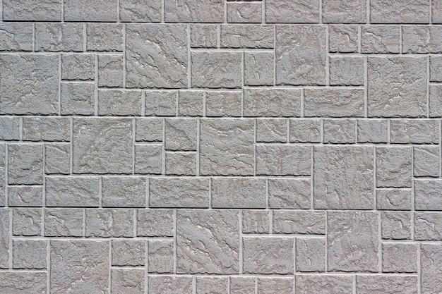 Mur de briques décoratif comme arrière-plan ou texture.