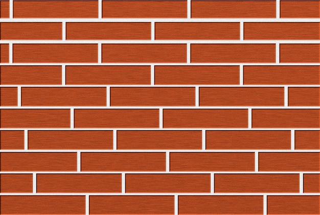Mur de briques de fond rouge brun. illustration