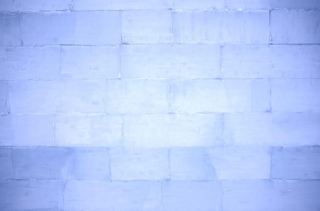Mur de briques de glace
