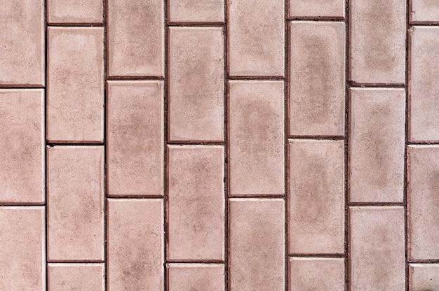 Mur de briques minimaliste