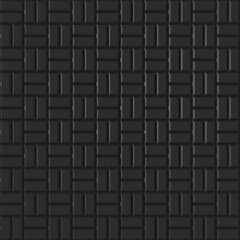 Mur de briques moderne, rendu 3d.