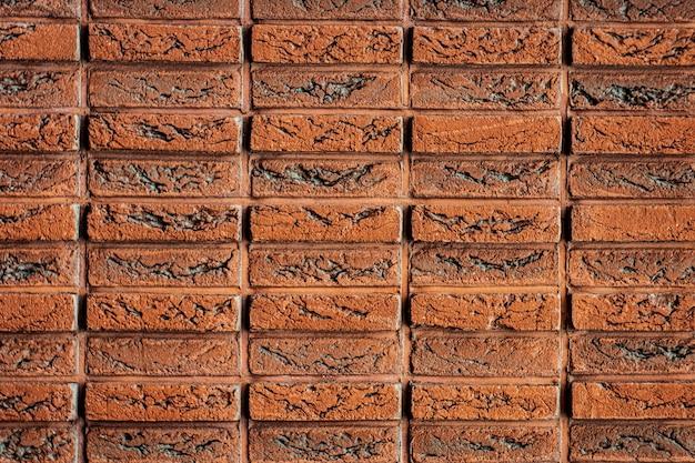 Mur de briques avec un motif orange mur de briques vieux mur de briques fond de mur de briques