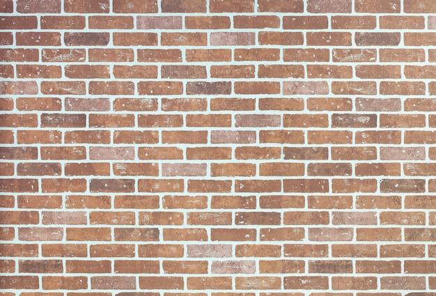 Mur de briques orange clair avec espace de copie.