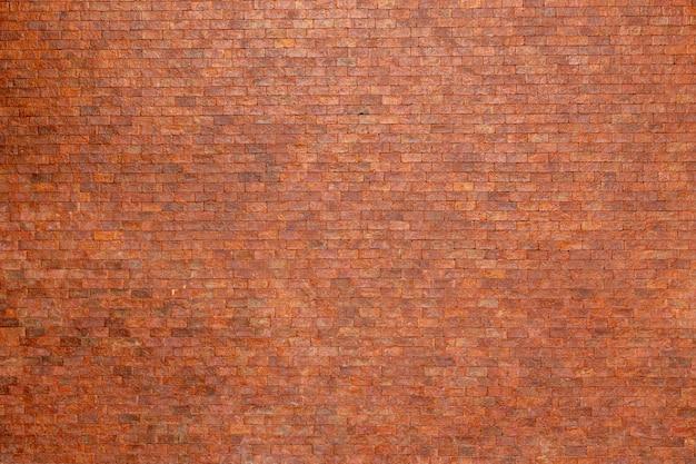 Mur de briques orange vide