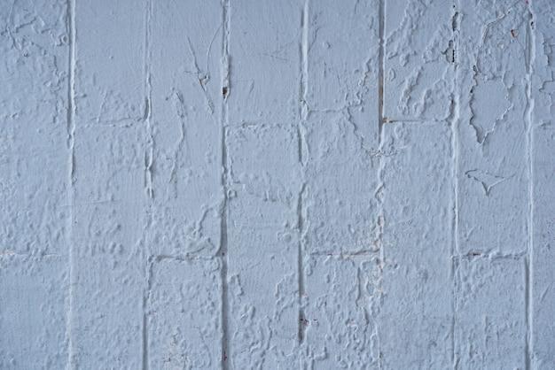 Mur de briques peintes