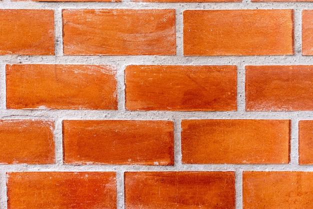 Mur de briques en pierre marron