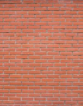 Mur de briques en pierre rouge texture fond transparent vertical