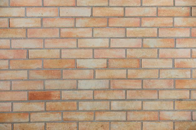 Mur de briques et de pierres de texture marron