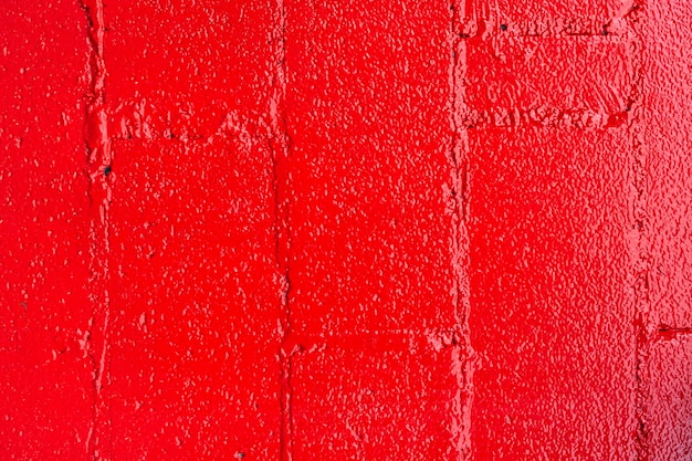 Mur de briques rouges abstrait