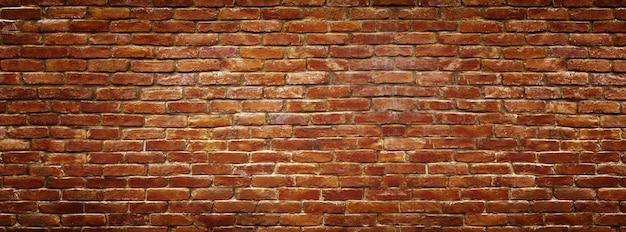 Mur de briques rouges comme arrière-plan