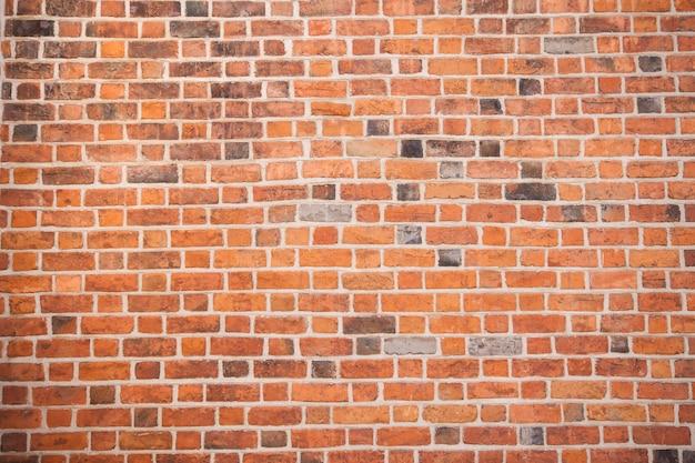 Mur de briques rouges texture grunge background