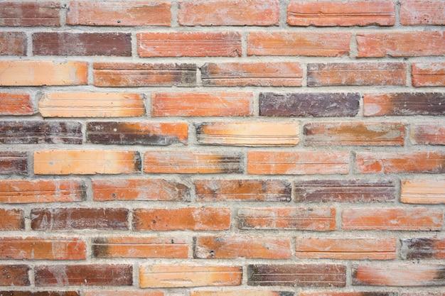 Mur de briques rouges texture grunge