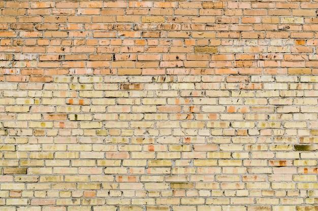 Mur de briques rouges vintage