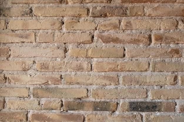 Mur de briques de texture vintage