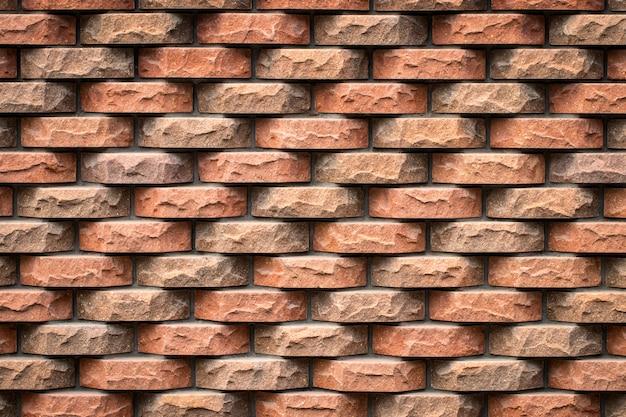 Mur de briques texturées précises.