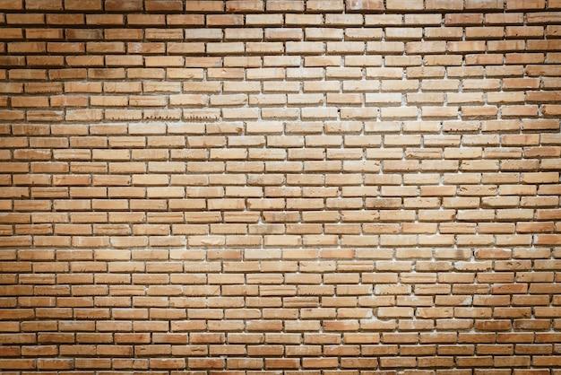 Mur de briques vide avec espace de copie