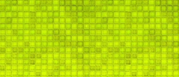 Mur de carreaux de mosiac vert