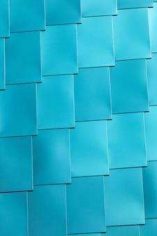 Mur de carreaux de vinyle bleu