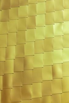 Mur de carreaux de vinyle jaune